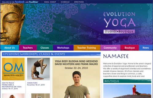 evolution yoga studios and boutique