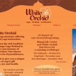 white orchid yoga