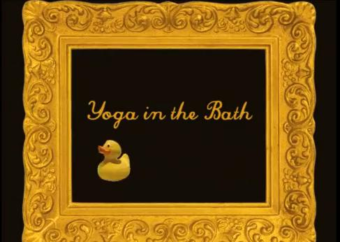 Yoga in the Bath