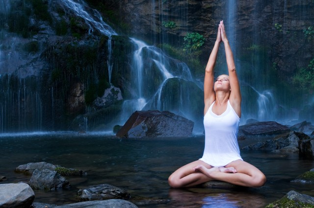 Yoga Waterfall